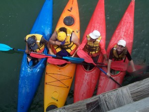 Cert II Community Activities kayaking 1