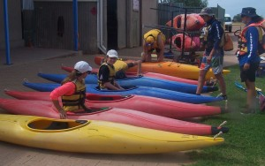 Cert II Community Activities kayaking 2