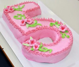 number-five-cake