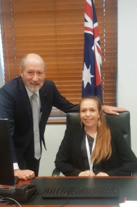 macacia with rowan ramsey at parliament house web