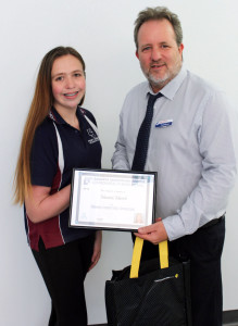 Macacia wins Vocational Training Award