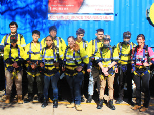 big group at confined space 2
