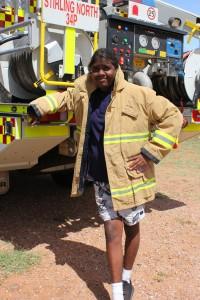 CFS firefighter Alfred